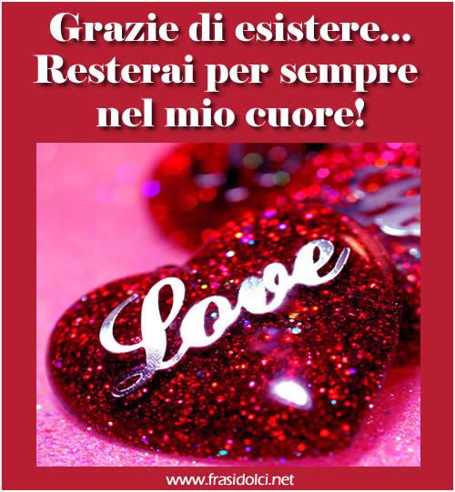 Molto FRASI DOLCI: Le più belle frasi dolci e frasi d'amore GN36